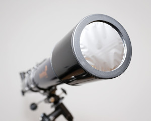 Levenhuk includes a quality solar filter for observing the Sun.